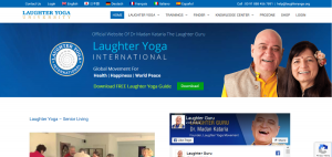Laughter Yoga International for Health Happiness and World Peace